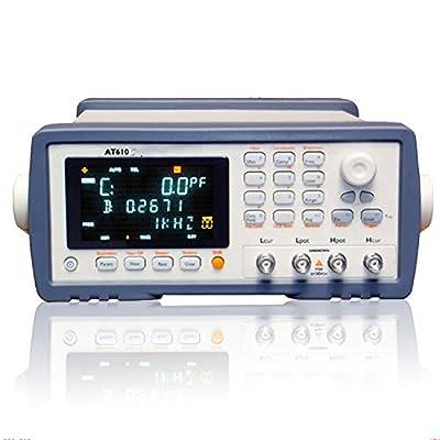 AT610 Capacitance Meter 100Hz, 120Hz, 1kHz and 10kHz 0.1V, 0.3V and 1V test level Build-in RS232