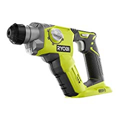 The RYOBI 18V ONE+ SDS-Plus Rotary Hammer Drill is more compact and more powerful than the previous model. With this new design, it produces up to 5,000 BPM 1,300 rotations per minute allowing you to use this tool for a variety of heavy-duty ...