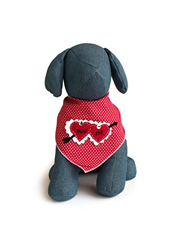 Tail Trends Valentine Cupid Hearts 100% Cotton Fits Small to Medium Sized Dogs (Cupid Dog Costume)