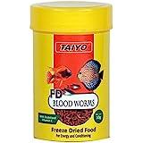 Taiyo Blood Worms Fish Food, 10 g