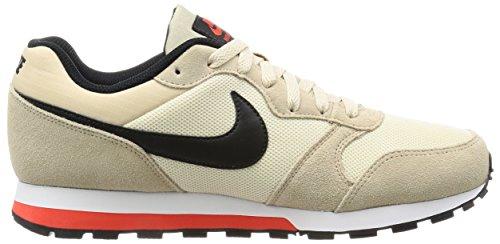 Nike Md Runner 2, Zapatillas para Hombre Varios colores (Linen / Black / Oatmeal / Max Orange)