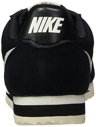 Nike Classic Cortez, Zapatillas de Gimnasia Para Mujer Negro (Black/sail)