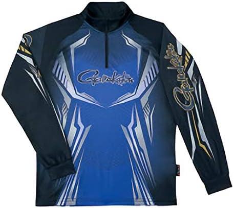 がまかつ(Gamakatsu) 2WAYプリントジップシャツ(長袖) GM3616 ブルー 3L