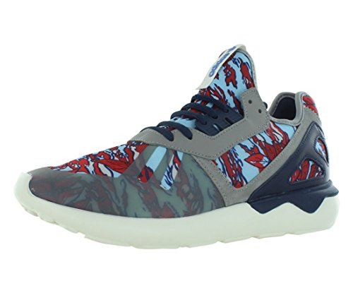 Adidas Originals Tubular Runner (9.5, Solid Grey/Collegiate Navy/Off White)