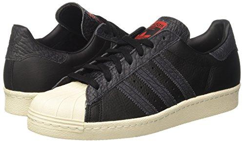 Core Diffrentes Hommes Pour Baskets Superstar Couleurs Solaire 80s noir Noir Adidas Rouge wqUTHX8U