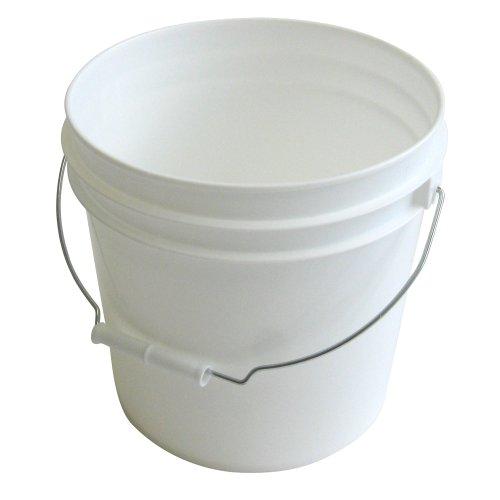 Argee RG502 Plastic Pail, 10-Pack, White ()