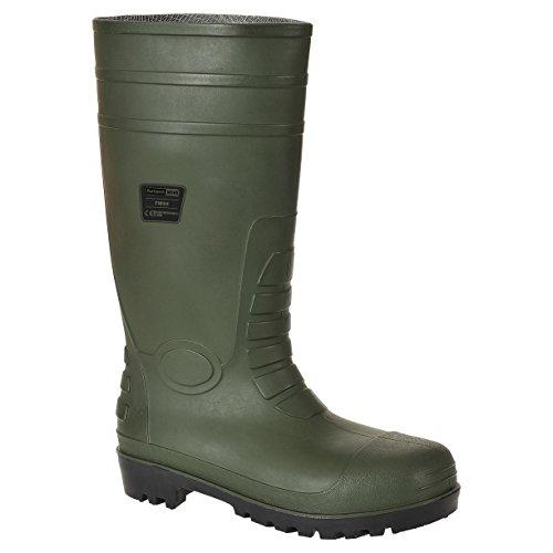 Green Total S5 Safety Sicherheitsschuhe Grün schwarz Wellington Herren Portwest Schwarz Größe Steelite 42 IqwxU5UO7