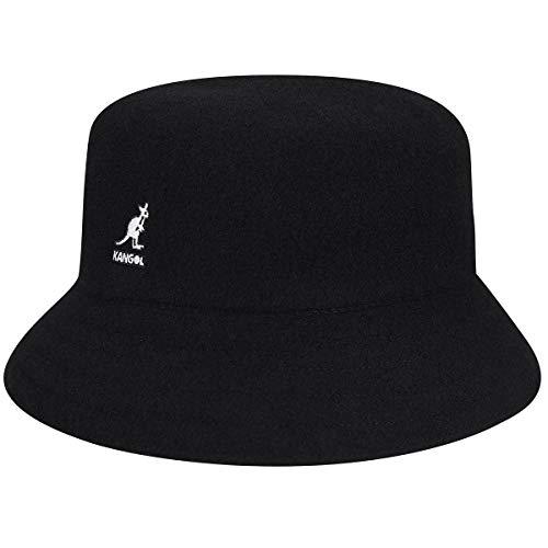 - Kangol Men's Wool Lahinch Bucket Hat, Black, L