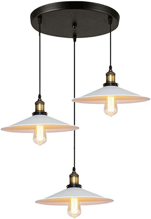 Vintage lampada da sospensione paralume Industrial