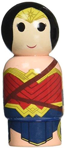 Bif Bang Pow! Batman v Superman Dawn of Justice Wonder Woman Pin Mate Wooden Figure -