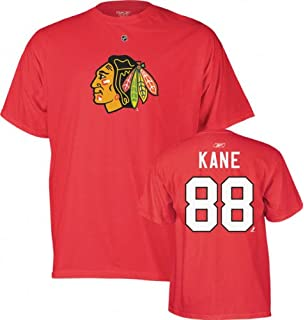 Reebok Chicago Blackhawks Patrick Kane Player Name & Number T-shirt