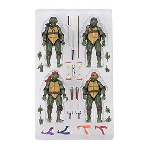 COOL MODEL 4 Piezas Teenage Mutant Ninja Turtle TMNT ...