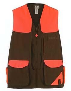 30324 - Cotton Field Vest Brn/Blaze Xl