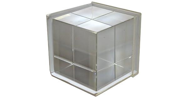 Portafotos Metacrilato Cubo 3D mod. 2327 Portafotos Cubo 3.5: Amazon.es: Electrónica