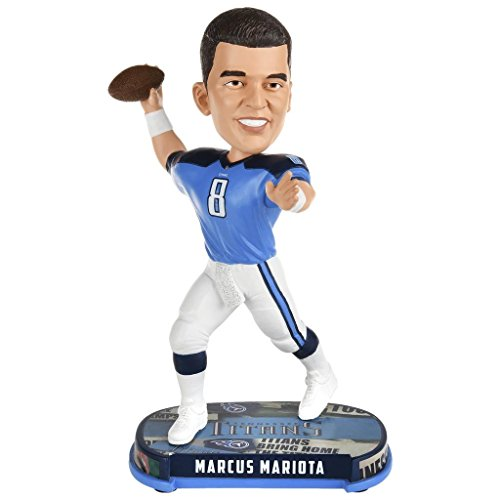NFL Headline Bobble Head #8 Marcus Mariota Tennessee Titans by Forever Collectibles