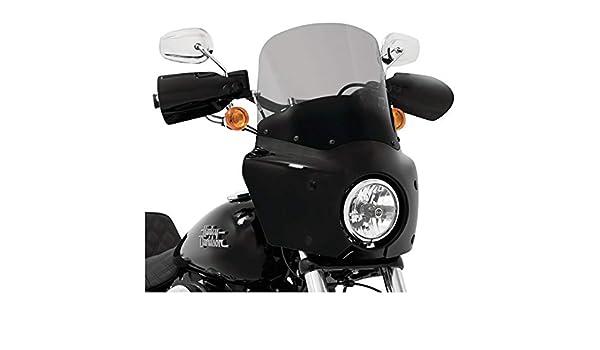 Memphis Shades 13 Black Smoke Road Warrior Windshield MEP86812