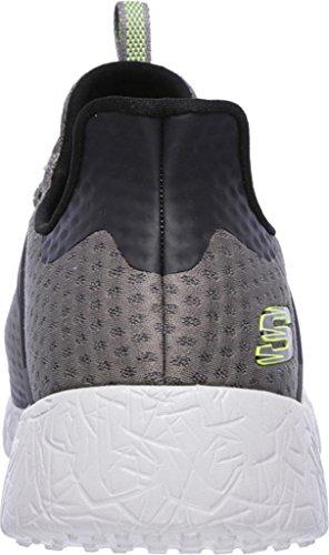 shinz Basses Baskets Charcoal Homme Skechers Burst w67qxC
