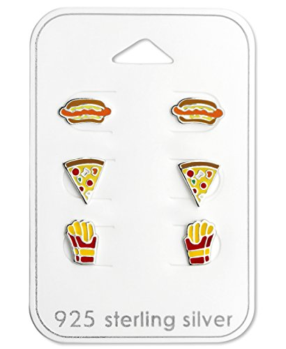 Wing Hot Pizza - Best Wing Jewelry .925 Sterling Silver