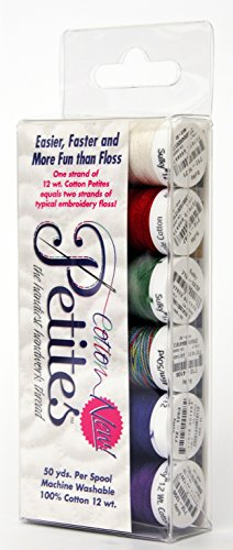 (Sulky Sampler 12wt Cotton Petites, Winter Assortment, 6-Pack)