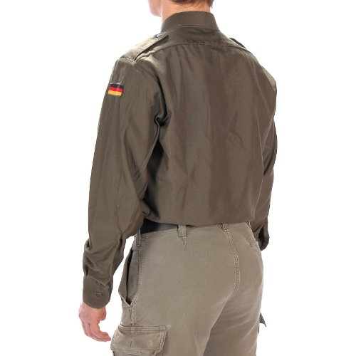 Bundeswehr Camicia da campo oliva Maniche lunghe