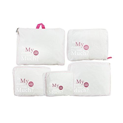 Portable Waterproof Underwear Clothing Organizer