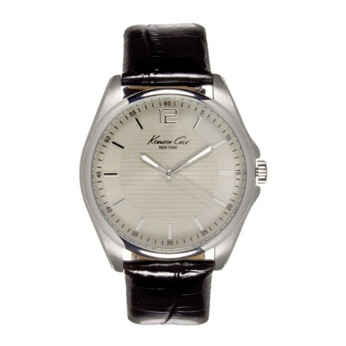 Kenneth Cole New York Leather - Black Men's watch #KC5172