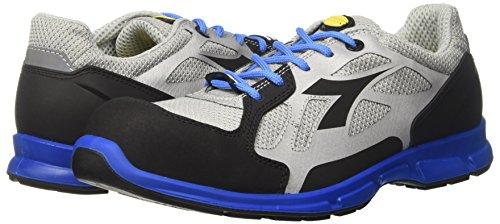 Diadora Energy Boost 3, Chaussures de Course Homme, Blanc Cassé (Grigio/Blu Nautico), 46 EU