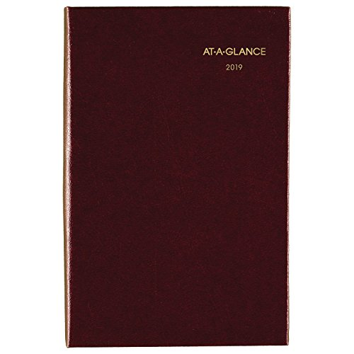 (AT-A-GLANCE 2019 Weekly & Monthly Pocket Diary, Fine Diary, 2-3/4