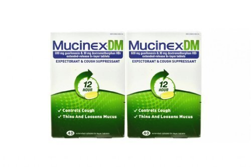 Mucinex DM Extended-Release Bi-Layer Tablets, 40 Count (Pack of 2) by ()