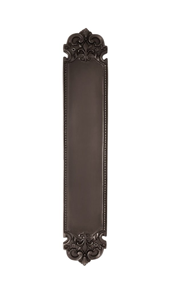 Nostalgic Warehouse San Francisco Push Plate, Oil-Rubbed Bronze