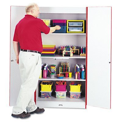 Rainbow Accents 5950JC008 Classroom Closet Deluxe - RED