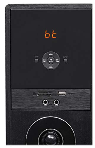 Rockville TM150B Black Home Theater System Tower Speakers 10'' Sub/Blueooth/USB by Rockville (Image #5)