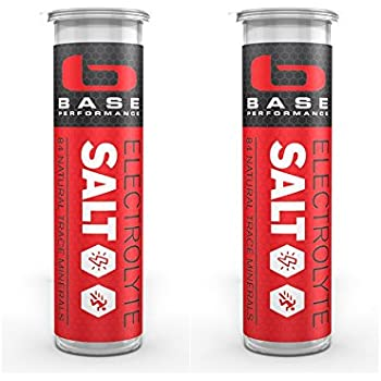 BASE Electrolyte Salt Race Vial - 2 pack | Prevent cramping and gastrointestinal distress using an all natural formula easily digested and rapidly absorbed sublingually.