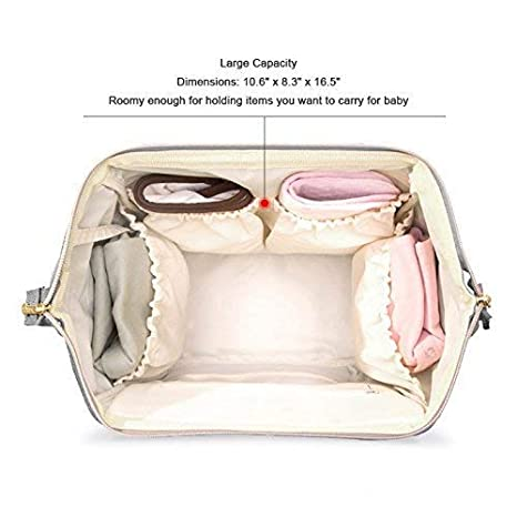 Black Baby Bag for Mom Boys Baby Shower Registry Diaper Bag Organizer Mufti-Function Waterproof Travel Backpack Large Capacity Diaper Bag Backpack