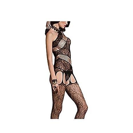 Amazon.com: joyci Spicy Body Unique Rejilla Abierta ...