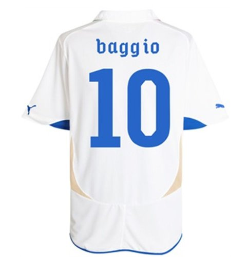 Puma Baggio # 10 Italy Away Jersey World Cup 2010 B0085OEUNG3L