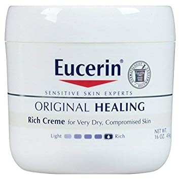 Eucerin Original Healing Rich Creme, 16 Ounce Pack of 2 by Eucerin