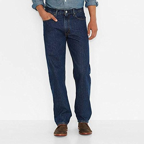 Misses Pull (Levi's Men's 550 Relaxed-fit Jean, Dark Stonewash, 40X32)