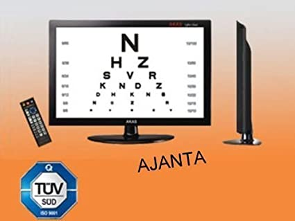 Acuity Chart System17 Color Lcdsion Acuity Digital Eye Chart