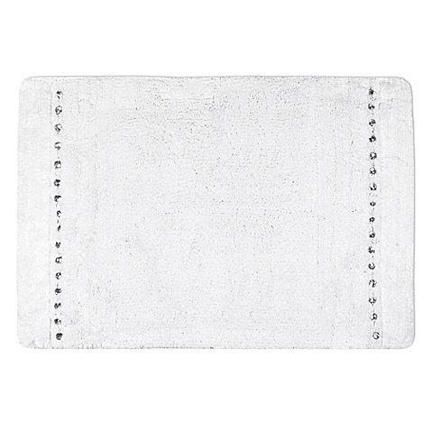 Twilight Bath Rug in White