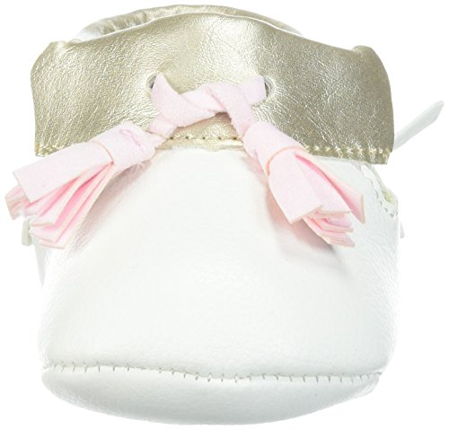 Pictures of Baby Deer Girls' 0004136 Moccasin White 1 White 1 Child US Infant 6