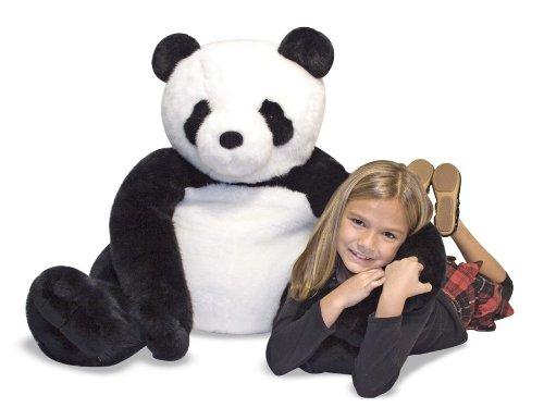 Melissa & Doug Giant Panda Bear - Lifelike Stuffed Animal (over 2 feet tall)