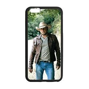 Onshop Custom Cool Jason Aldean Pattern Phone Case Laser Technology for iPhone 6 Plus