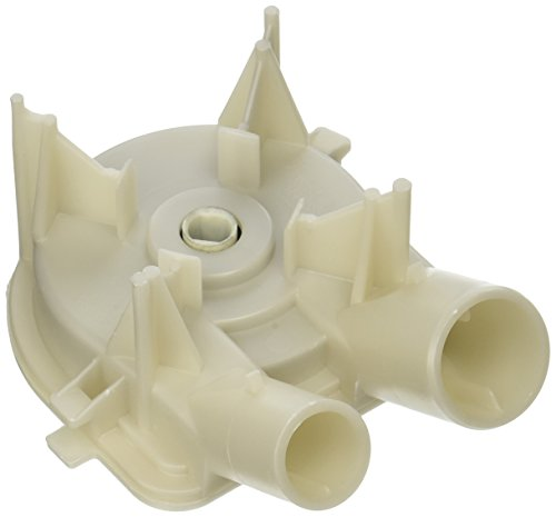 (Whirlpool OEM Factory Kenmore Washer Water Drain Pump Part 3363394, 3352293, 3352292, 2x2x2, White)