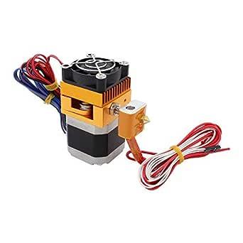 Redrex - Extrusora MK8 montada con boquilla de impresión Hotend de ...