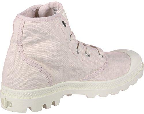 A Collo Pink Donna Hi Alto Sneaker Us F Palladium Pampa FqPwP6