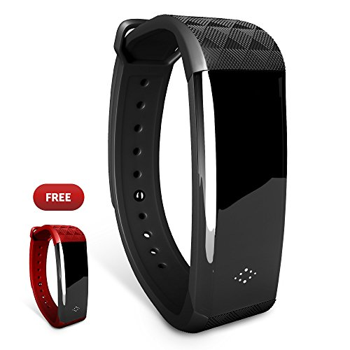 Fitness Tracker, Vortex M2S Activity Tracker with Heart Rate Monitor : Blood Pressure Meter, Calorie Tracker, Wireless Bluetooth Smart Band, Waterproof Smart Watch with APP for IOS & Android