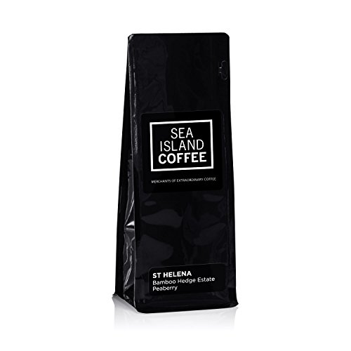 Bamboo Hedge Estate Peaberry, St Helena - Cafetiere Grind Coffee (4.4 Oz Bag)