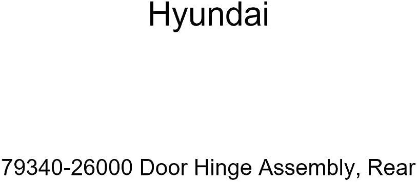 Genuine Hyundai 79340-26000 Door Hinge Assembly Rear