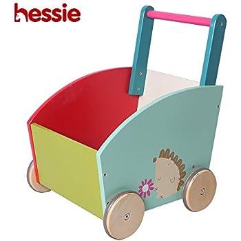 Amazon.com : Labebe Baby Walker with Wheel, White Fox ...